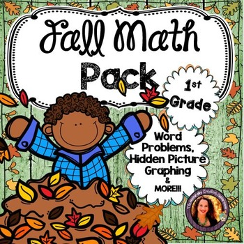 Fall Math Pack for 1st Grade