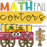 Fall Math Centers {Kindergarten NO PREP}