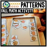 Fall Math Patterns Activity Center
