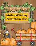 Fall Math Performance: Pumpkin Patch Field Trip