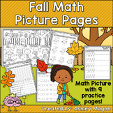 Fall Math Picture Pages