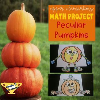 Decimal Fall Math Project with Pumpkins