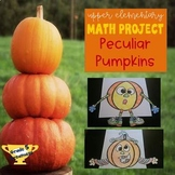 Fall Math Project Decimals Practice with Pumpkin Design