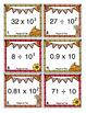 5th Grade Fall Math Scoot - 5th Grade Fall Math Activities