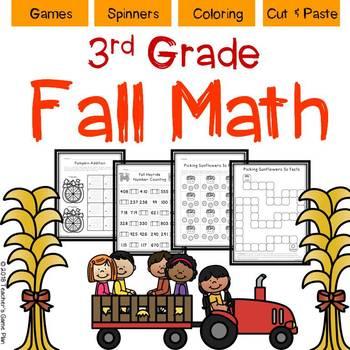 Fall Math Skills 3rd Grade