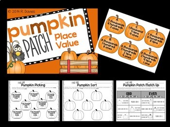 Fall Math Station Bundle {Add, Subtract, Multiply, Estimate, Place Value}