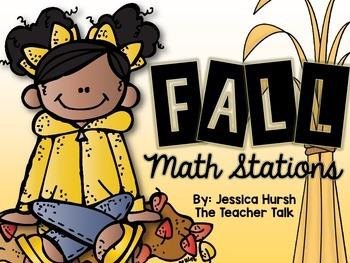 Fall Math Stations