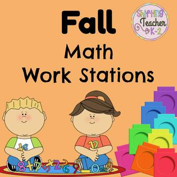 Fall Math Stations - Money, Number Sense, Place Value