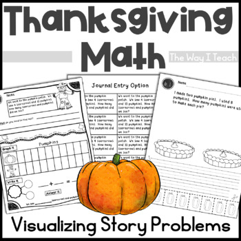 Thanksgiving Math:  Addition Story Problems