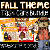 Fall Math Task Card Bundle