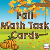 Fall Math Task Cards