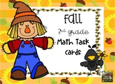 Fall Math Task Cards (3rd grade)