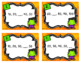 Fall Math Task Cards - Counting by Tens
