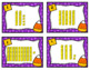 Fall Math Task Cards - Tens and Ones