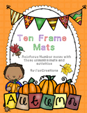 Fall Math Ten Frames