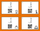 Fall Math: Three 2-Digit Subtraction QR Code Task Cards