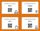 Fall Math: Time Conversion: Days & Hours QR Code Task Cards