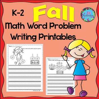 Fall Math Word Problems!