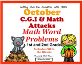 C.G.I  & Math Attack Common Core Fall Combo Pack