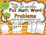 Fall Math Word Problems