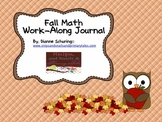 Fall Math Work-Along Journal