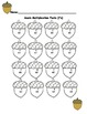 Fall Math Worksheets- Multiplication 5's, 6's, 7's