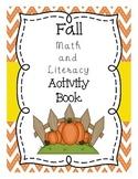 Fall Math and Literacy Activities No-Prep