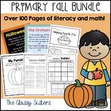 Fall Math and Literacy Bundle