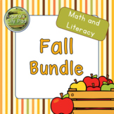 Fall Math and Literacy Centers Bundle