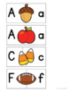Fall Math and Literacy Centers Bundle