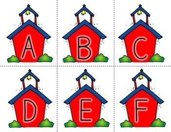 Fall Math and Literacy Centers {kindergarten}
