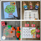 Fall Math and Literacy Centers {CCSS}