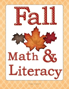 Fall Math and Literacy Centres Pack