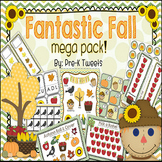 Fall Math and Literacy Games