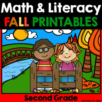 Fall Math and Literacy No-Prep {2nd Grade}