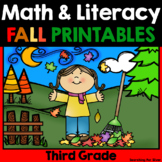 Fall Math and Literacy {3rd Grade}