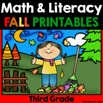Fall Math and Literacy {3rd Grade}
