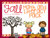 Fall Math and Literacy Activities