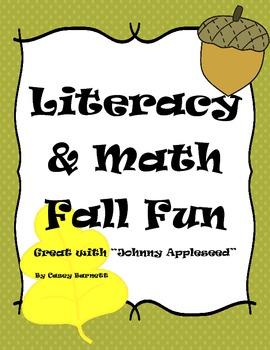 Math and Literacy Fall Packet {K-2nd}