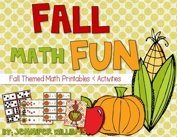 Fall Math and Literacy Pintables and Activities BUNDLE