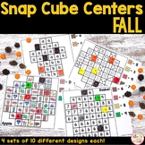 Fall Math and Literacy Snap Cube Activities