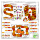 Fall Math and Reading Board Games