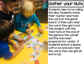 Fall Math and Reading Kindergarten Centers