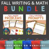 Fall Math and Writing Bundle