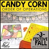 Fall Math Activities for Middle School | Order of Operations