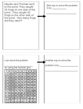 Fall Math for Second Graders  Solving Story Problems with Multiple Strategies