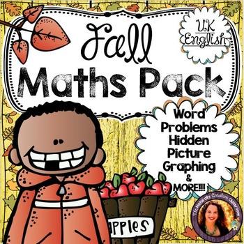 Fall Maths Pack- UK English Version
