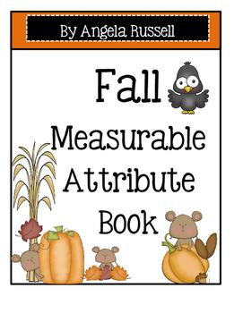 Fall ~ Measurable Attribute Book