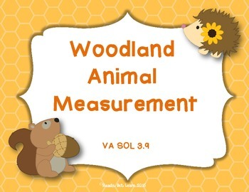 Fall Measurement Activity - Measuring to the Nearest 1/2 inch and Centimeter