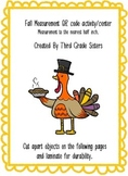 Fall Measurement QR Code Activity and center